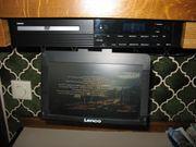 Küchen-DVD CD-Player mit Weckerradio Lenco