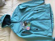 Teenie Softshell Jacke in Eisblau