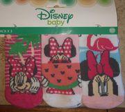 3er Pack Minnie Mouse Söckchen
