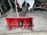 Schneefräse ohne Motor