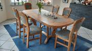 Massivholz Esszimmer Tisch