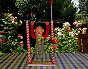 Blechspielzeug antik Turner Clown
