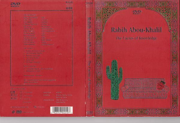 DVD Rabih Abou-Khalil - The Cactus