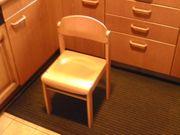 2 Kinderstuhl Kinderstühle Echtholz Buche