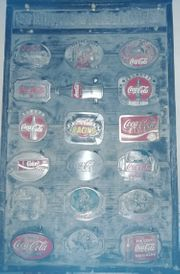 Coca Cola Gürtelschnallen