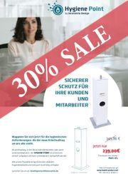 HygienePoint Hygienesäule Hygienespender 30 SALE