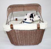 Solvit Hundefahrradkorb aus Kunststoff für