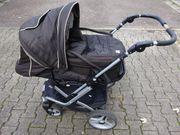 Teutonia Kinderwagen Mistral S braun