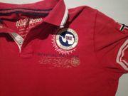 Napapijri Poloshirt Herren rot 100