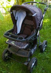 lux4-kids-magnum 2 in 1 Kinderwagen