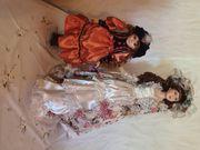 Nachlassauflösung 2 handgemachte Puppen