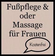 Gratis Fußpflege Massage für Frauen