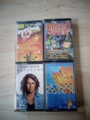 Musik-Kassetten Rock Pop