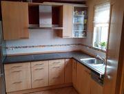 Küche incl 75 cm Cerankochfeld