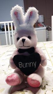 Bunny Hase rosa mit Herz