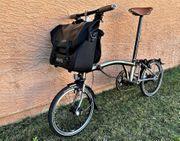 Fahrrad Brompton S6L-X Nickel Edition
