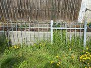 Gartentor und Zaunelement verzinkt - gebraucht