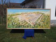 Großes Gemälde Palast von Knossos