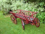 Blumenwagen- holzleiterwagen