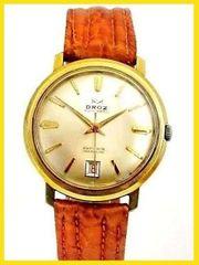 schöne - Vintage - DROZ Herren Armbanduhr -