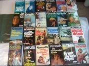 24 gebundene Bücher Konsalik