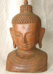 Buddha Kopf Skulptur Angebot 2