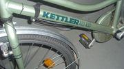kettler alu-damenrad hellgrün metallic sehr