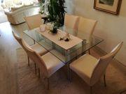 Esstisch Stühle 6 St Teppich