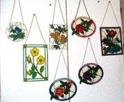 Versch Blumenbilder mit Kette