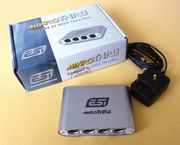 ESI mikroTHRU MIDI Thru Box