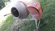 Lescha Betonmischer Betonmaschine mieten leihen