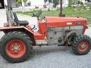 Schanzlin 803 Schmalspurallradschlepper leicht reparaturbedürftig