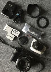Canon PowerShot G3X mit EVF-DC1