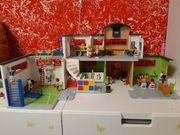 Playmobil Schule mit Turnhalle
