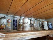 mind 50 Bierkrüge viele mit