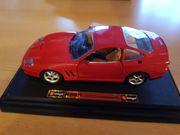 Bburago Ferrari 550 Maranello rot