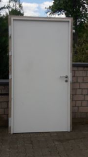 Hochwertige Stahltüren lackiert