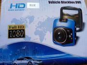 Dashcam DVR Car Recorder blau
