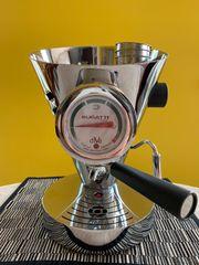 Bugatti Diva Espressomaschine chrom