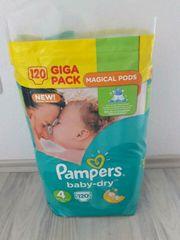 Pampers baby-dry Größe 4 - 120