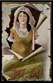 USA Postkarte mit George Washington
