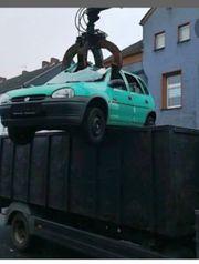 Schrott Auto Entsorgung
