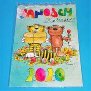 Janosch Motiv-Kalender 2020 - DIN A2 -