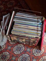 Schallplatten Konvolut LP und Single