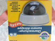 Überwachungkamera-Attrappe mit Led