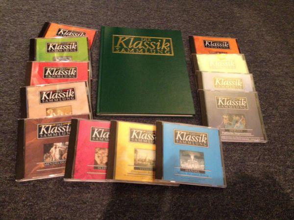 12 CD Klassiksammlung Buch