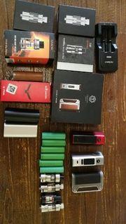 E-Zigarette akkuträger Verdampfer