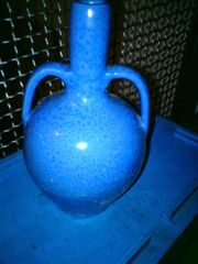 Vintage - Vase - sehr schöne Vase - blau