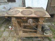 Tischkreissäge Riemenantrieb 380V Eigenbau