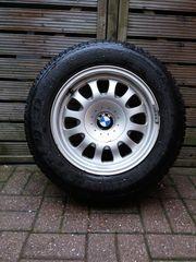 Winterreifen auf BMW Alufelgen